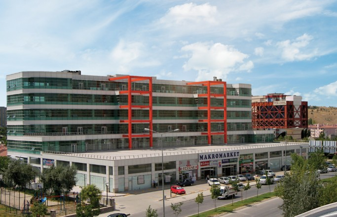 Бизнес центр «Özçelik – Pelit»